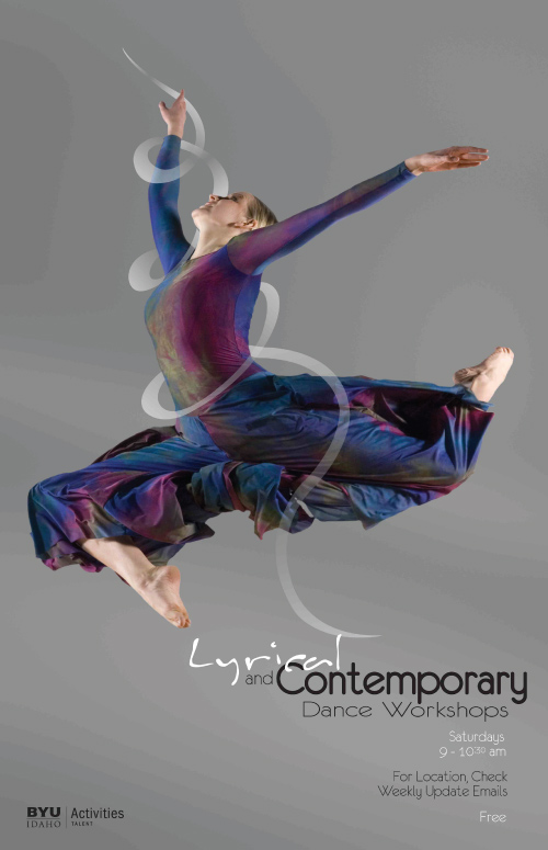 Lyrical And Contemporary Dance Zoom In Jacob Spori Gallery Promotional Poster